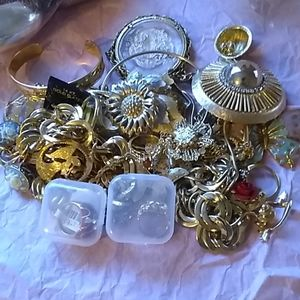 GLAMOROUS!/GOLDEN MIXED 25PCS  JEWELRY